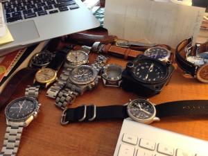 Watches, Watches, Everywhere Watches
